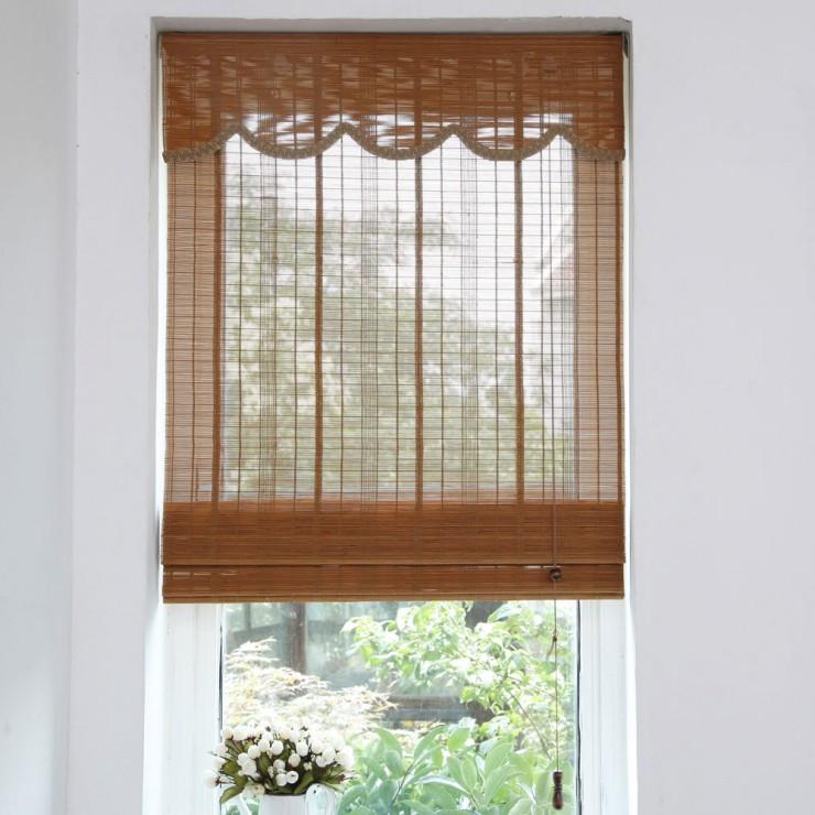 榆林竹帘卷帘安装-有品质的延安竹窗帘服务商