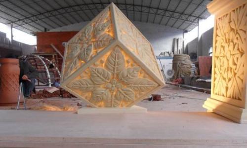 專業的雕塑制作服務商_銀川匯甲玻璃鋼,內蒙古雕塑制作定制