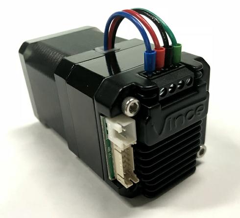 串口控制型一体化步进电机控制驱动器