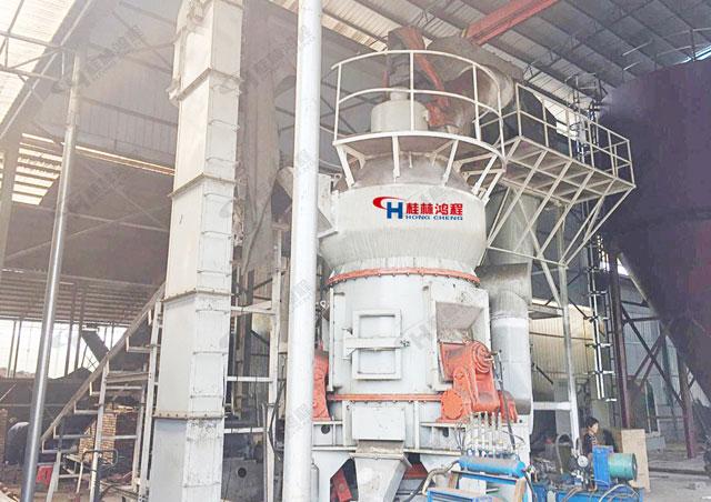 鸿程大型煤磨机 粉磨氧化锰HLM立式磨粉机 湖南煤立磨