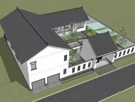 甘肃轻钢别墅-价位优惠质 量优质的农村四合院建筑