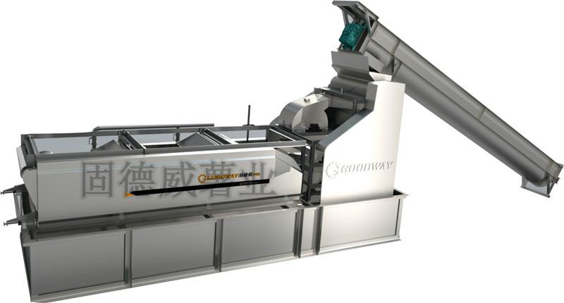 芭蕉芋淀粉设备专用打粉机,出粉率高又保证质量