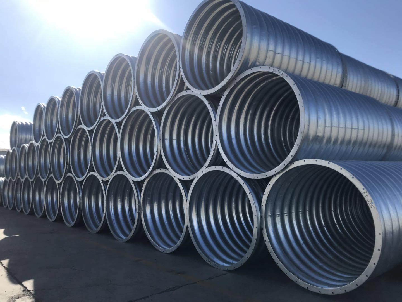 甘肃钢壁波纹管厂家|甘肃龙腾管业_优良兰州钢波纹管供应商