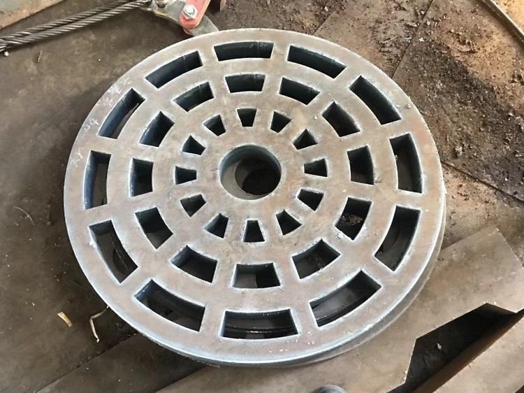钢板切割圆环件