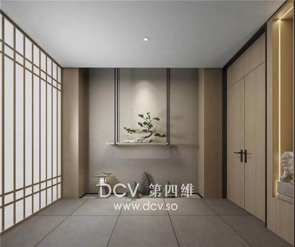 山西·永济新中式办公商务会所室内装修设计