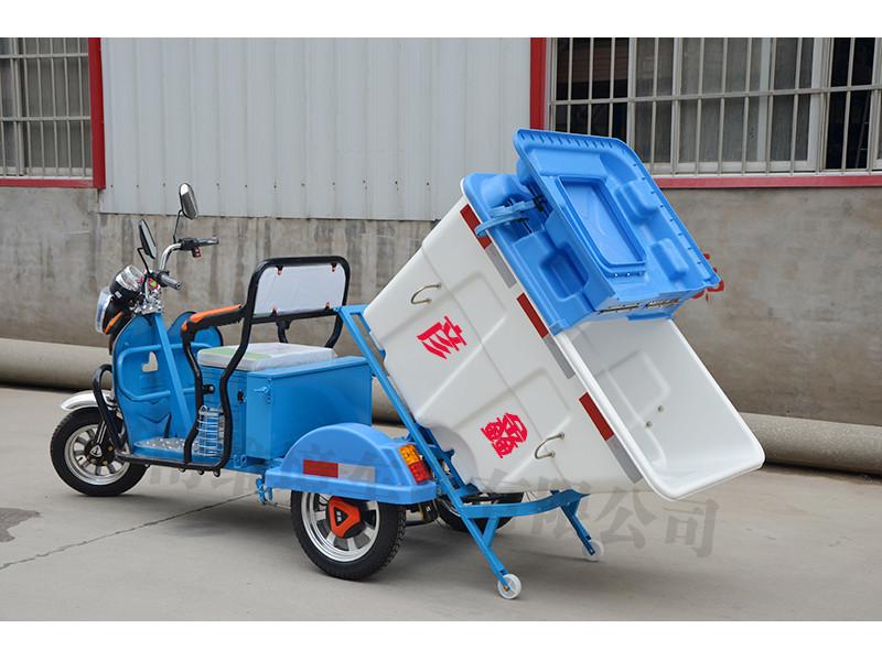 许昌耐用的彦鑫牌小型自卸式电动三轮保洁车哪里买|环卫保洁车