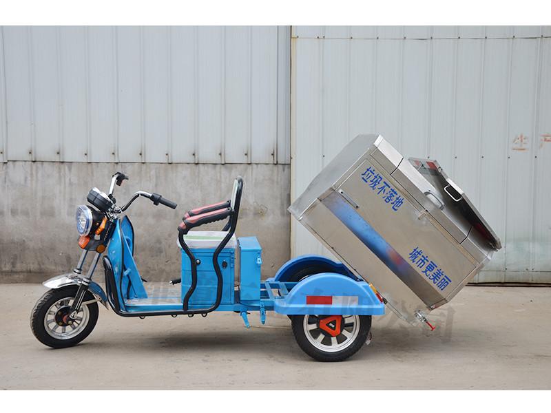 电动快速保洁车厂家 许昌口碑好的彦鑫牌小型自卸式电动三轮保洁车批售