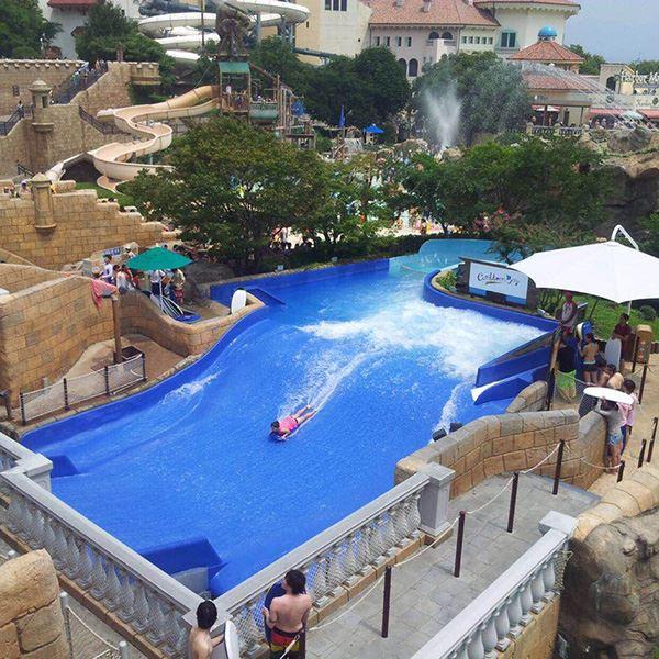 冲浪模拟器|安徽嗨浪游乐设备专业提供冲浪模拟器设备定制