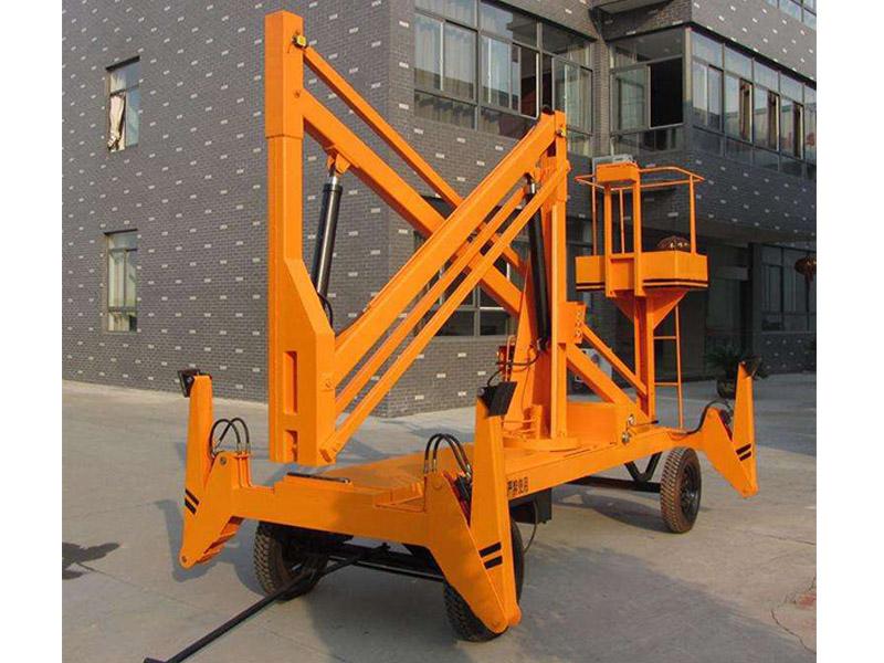 芜湖曲臂式液压升降平台价格-思诺特升降机械新款曲臂式液压升降平台出售