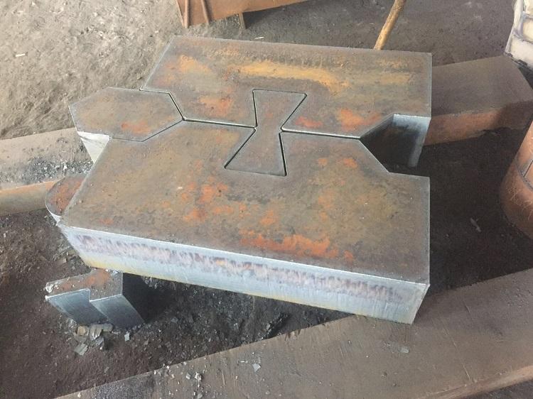 清远特厚钢板下料-专业提供钢板切割加工