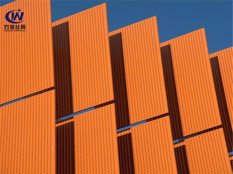 铝板幕墙装饰冲孔筛板网--安平县万诺丝网