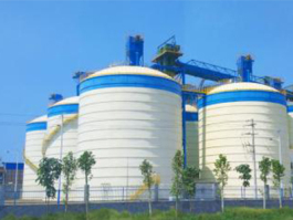 聊城市鑫泓钢板仓有限公司大型焊接钢板仓特点