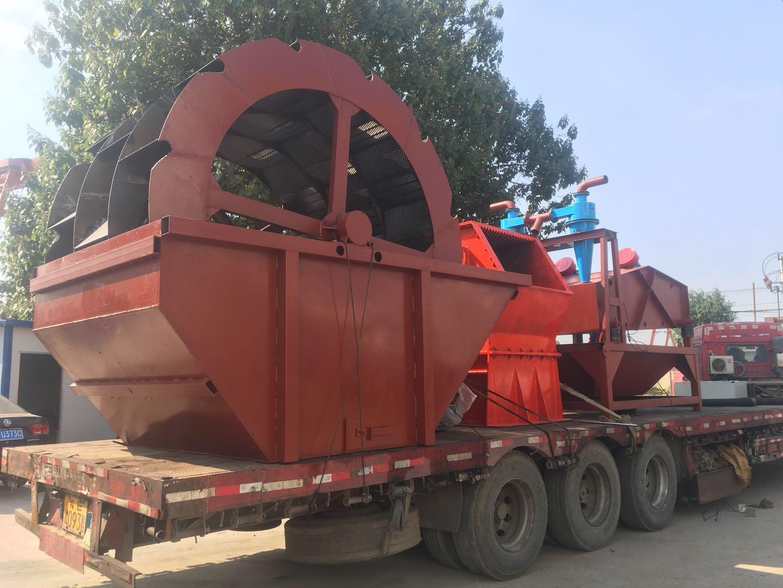 济宁150吨破碎洗沙机设备 风化砂处理设备