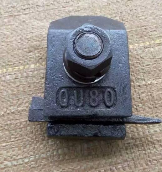 陸運行車軌道壓板-魚尾螺栓價格-扳道器型號