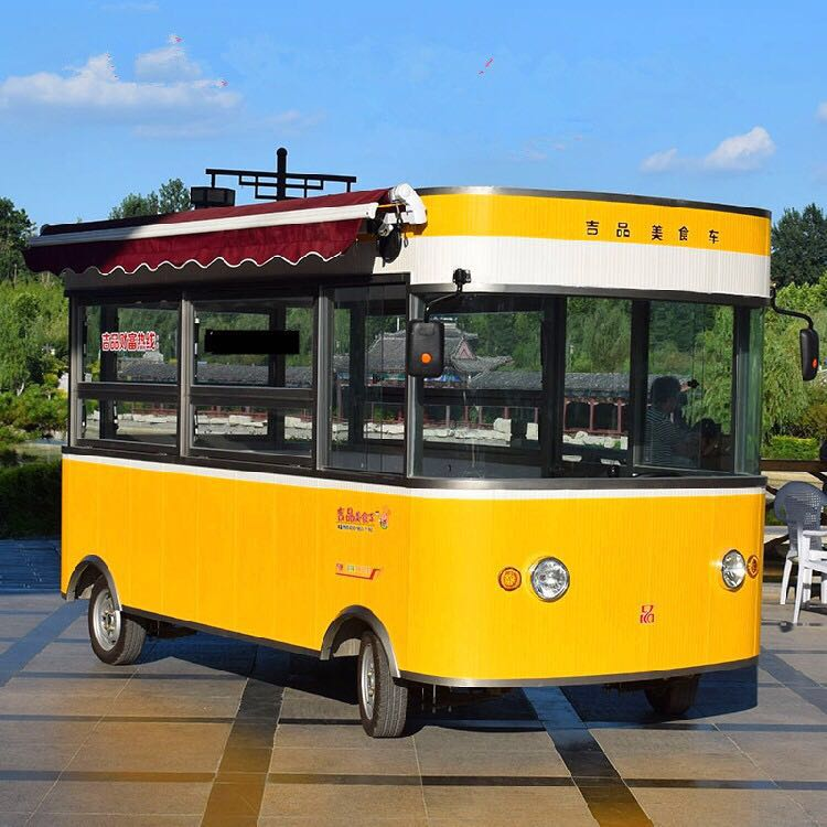 电动售货车加盟|想买质量好的电动售货车就来吉品新能源