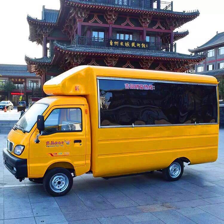 潍坊电动广告车|吉品新能源提供有品质的电动广告车