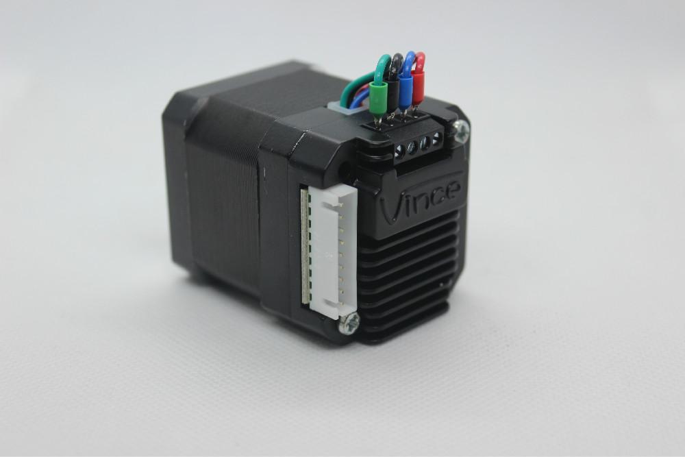微型步进电机驱动控制器一体机套装开环42电机驱动器