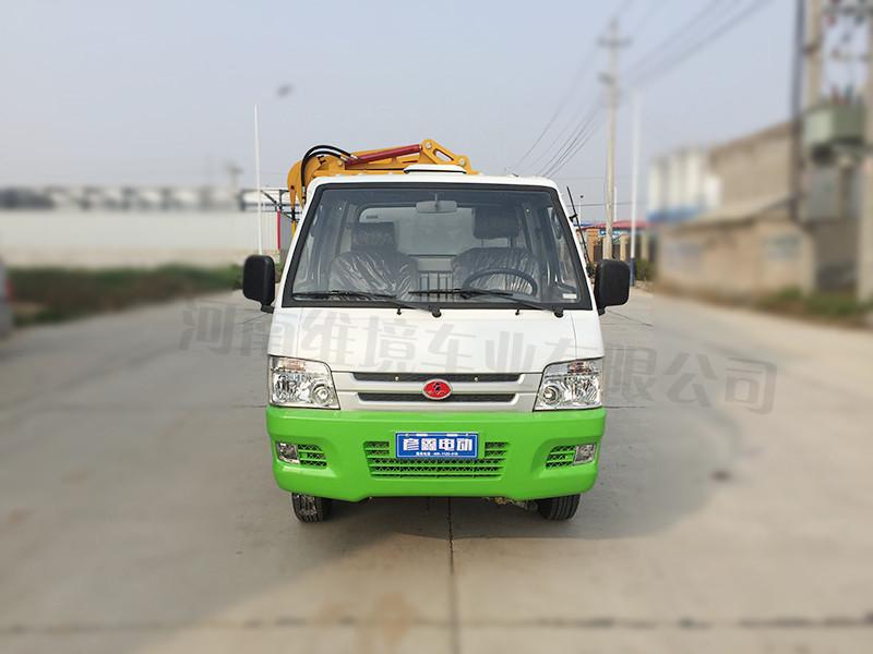 河南维境车业自装自卸式电动四轮翻桶车作用怎么样|河南自卸式挂桶车