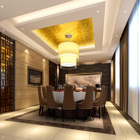 郑州酒店餐厅设计说明 餐厅包间如何装修设计 餐厅装修公司