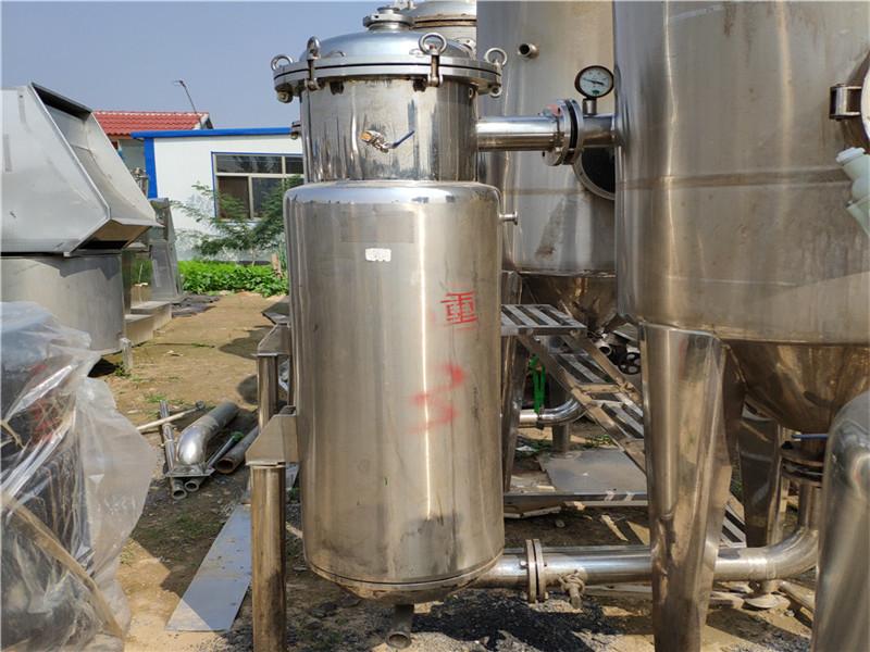 梁山鑫德设备专业供应二手蒸发器 二手四效强制循环蒸发器