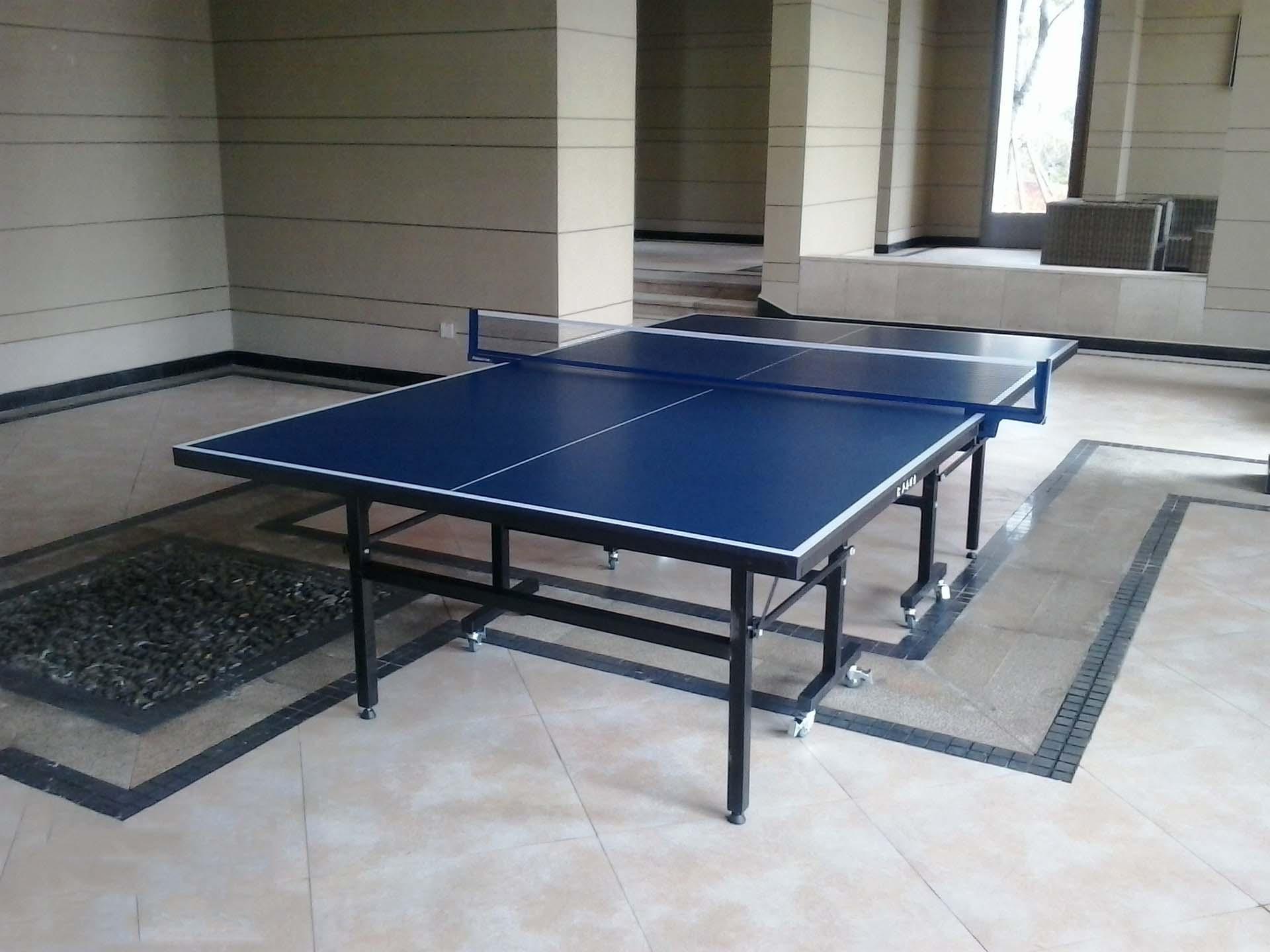 河北乒乓球台厂家室外球桌价格室内移动乒乓球桌选奥健体育