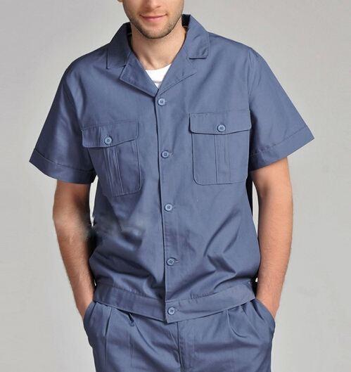 短袖工作服图片|当下时尚的工作服推荐