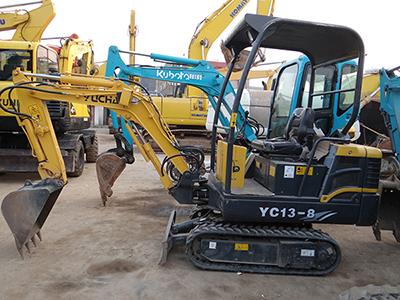 二手玉柴13-8挖掘机|报价|价格|出售|转让|买卖