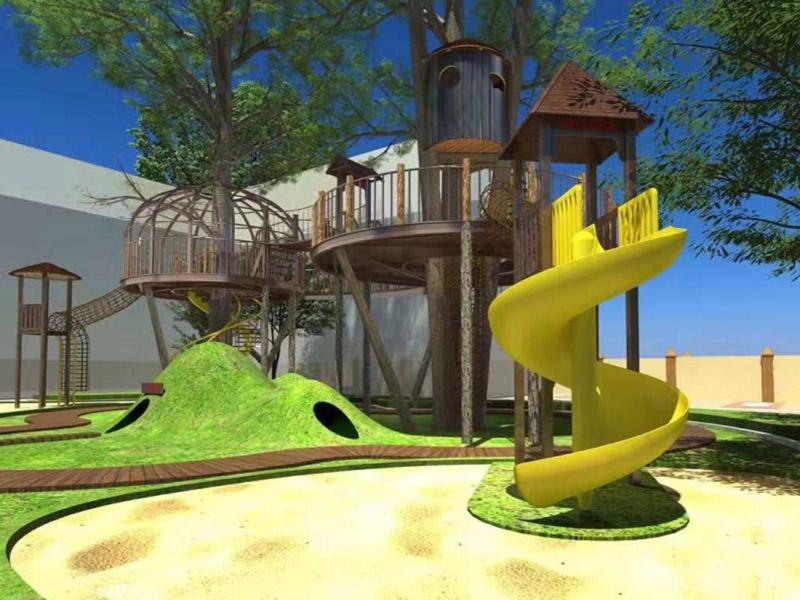 成都木质游乐设施设计-四川高性价木质游乐设施