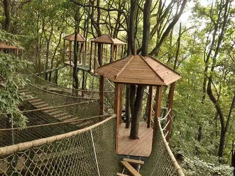 丛林拓展安装-成都丛林穿越上哪买