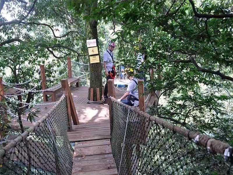四川兒童公園安裝-四川好玩的叢林穿越