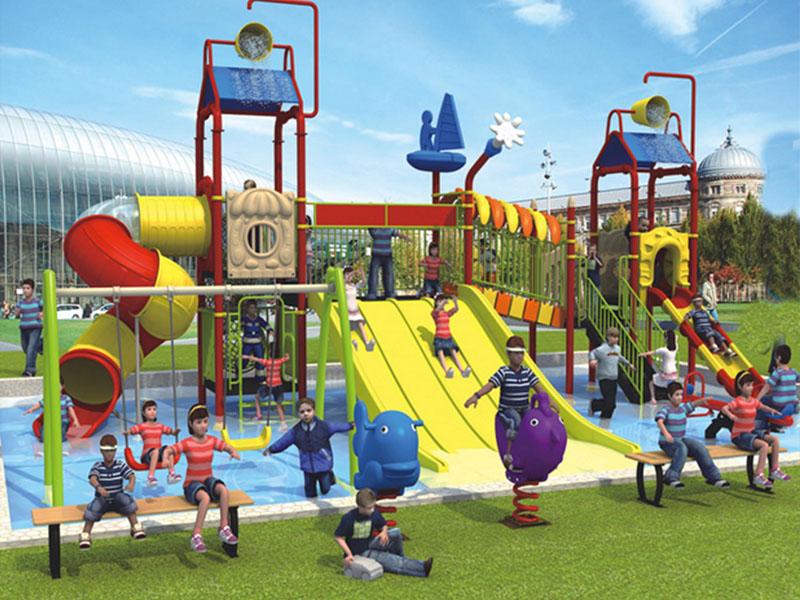 儿童主题乐园厂家-水上滑梯多少钱一台