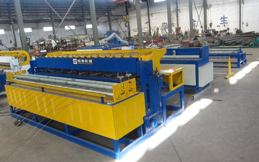 山西煤礦支護網焊接機 優質全自動經緯網排焊機超市貨架焊接機