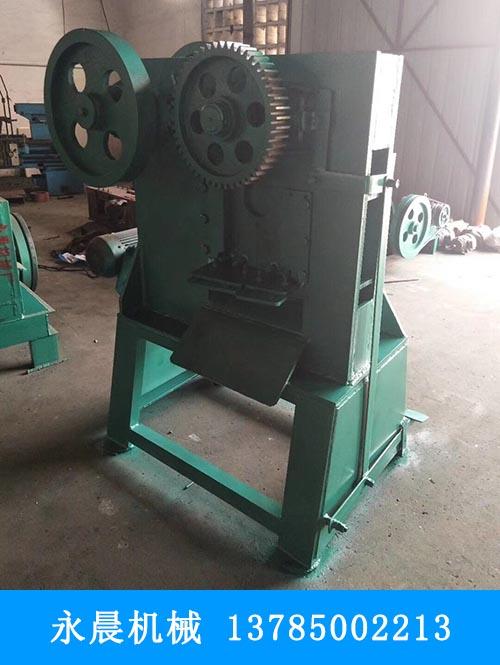 【永晨】陕西立式钢板切角机多少钱?天津批发厂家