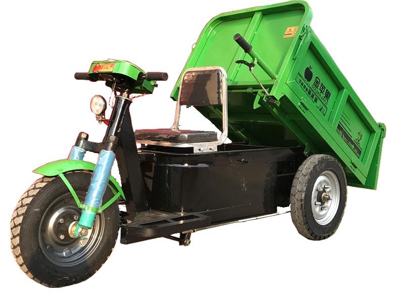 許昌工程三輪車廠家_質量硬的金蘋果電動三輪車在哪能買到