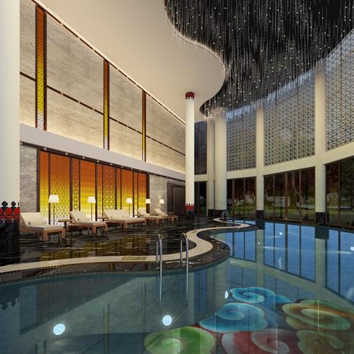 郑州度假酒店装修 悦榕庄酒店装修设计效果图 精品酒店设计公司
