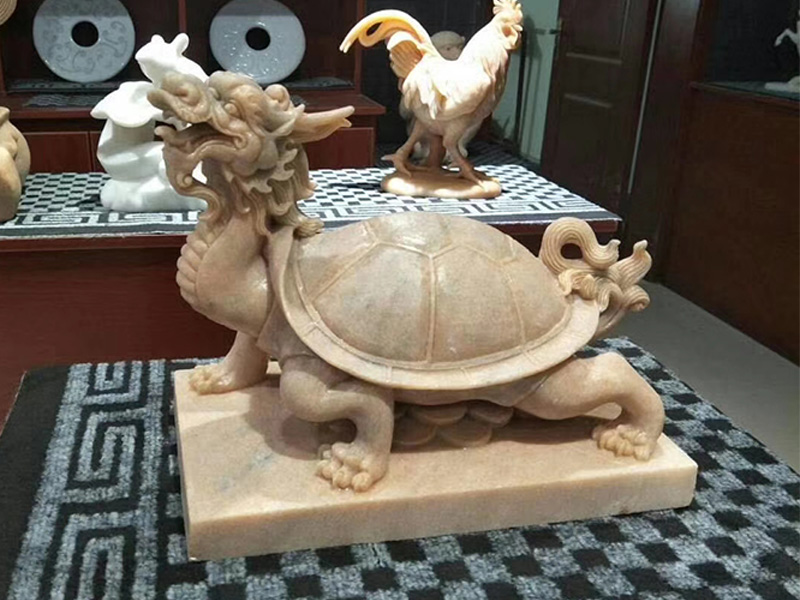 石雕大象_精巧的石雕动物专业供应