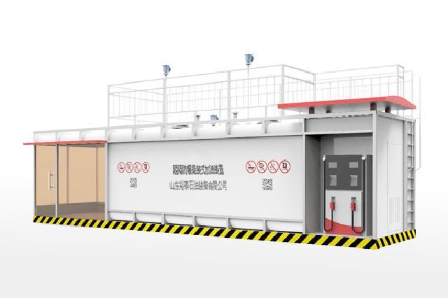 呼和浩特质量良好的10m³单平台箱式阻隔防爆撬装式加油装置哪里买|通辽企业用油