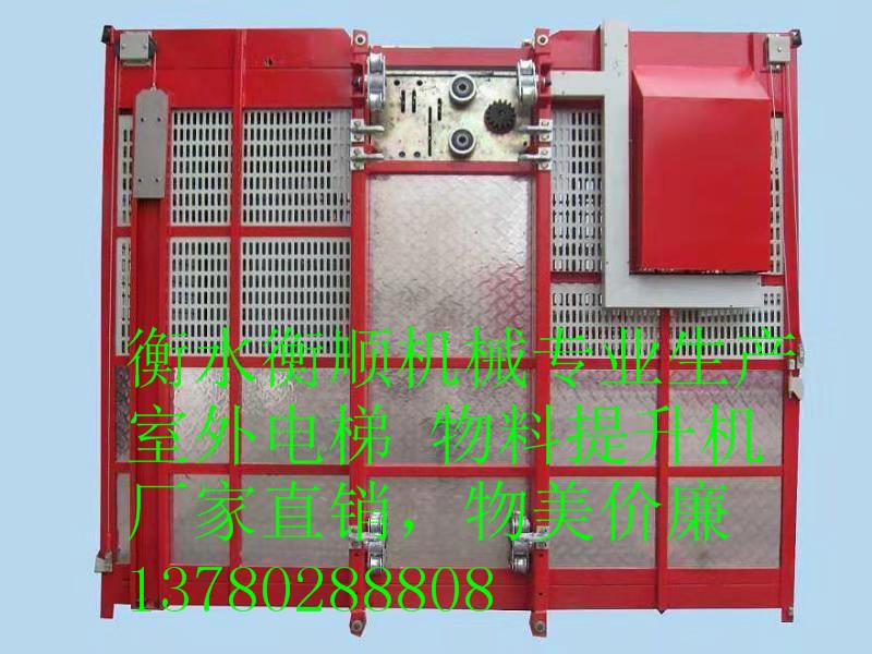 寧夏浙江衡順興生產龍門架-性價比高的SC120/120施工升降機在哪買