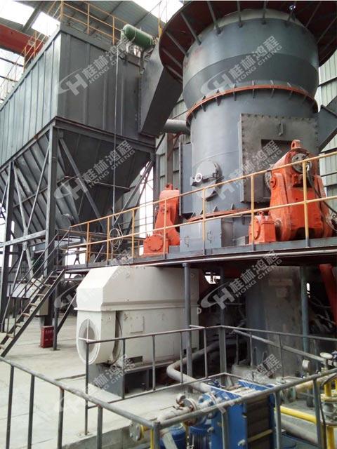 黄磷矿渣冶炼磨粉机HLM2000立磨大型气流微粉磨