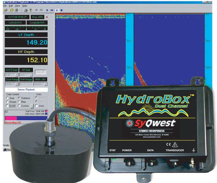 测深仪hydrobox 美国测深仪