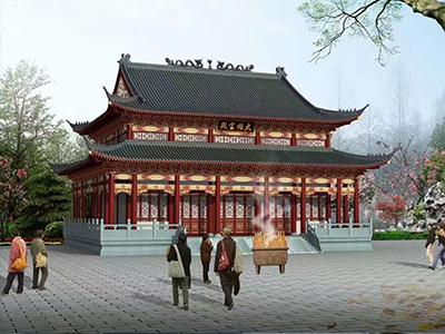 古建筑设计施工_甘肃专业的雕塑制作商