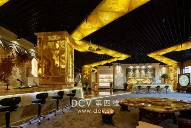 西安-玉宫奢石馆石材展厅(红星美凯龙)现代简约室内外装修设计