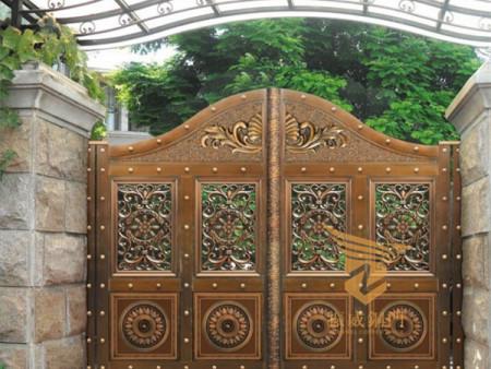 广西庭院铜门,***别墅大门