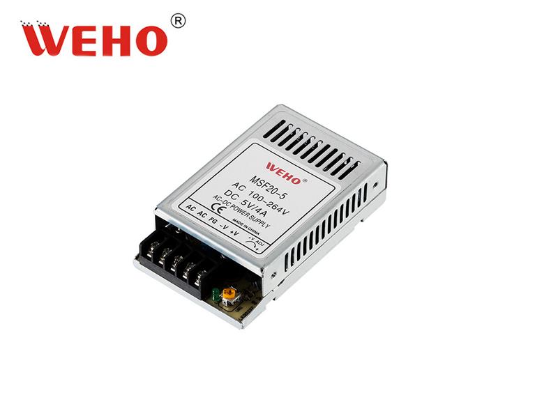 小功率超薄体积MSF-20-24开关电源全电压输入24V