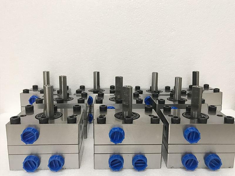 广东一进两出款水性漆齿轮泵厂家_DISK自动喷漆设备