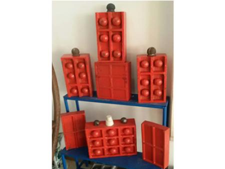 磁性衬板厂家-鞍山口碑好的磁性衬板供应商当属鞍山华盛重机磁衬耐磨装备