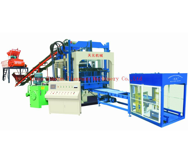 四川環保磚機生產廠家-臨沂好用的QTY6-15A型-電腦全自動砌塊成型機哪里買