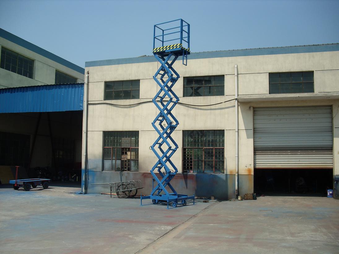 優良的移動式高空作業平臺供應商當屬蘇州通能升降機 湖州移動式高空作業平臺