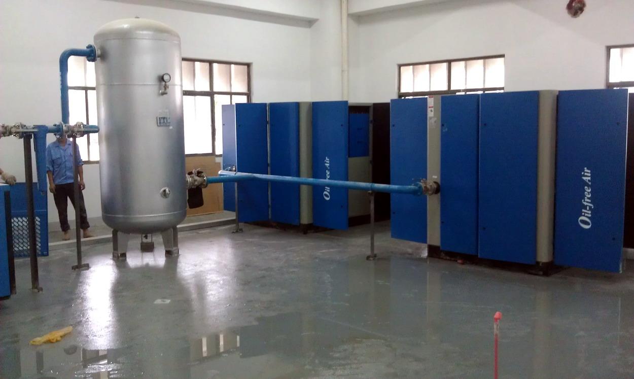 优惠的螺杆空压机供应信息-宁波无油空压机厂家