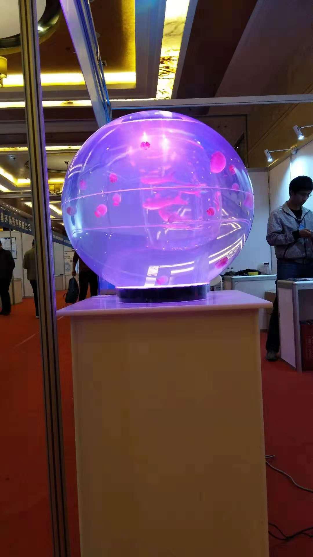 球形淡海水两用缸格_买专业的球形淡海水两用缸优选蜀东有机玻璃